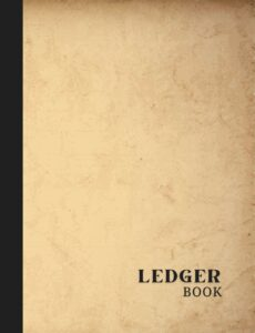 Simple Accounting Ledger Logbook