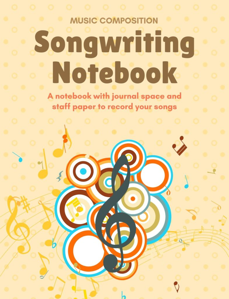 Songwriting Notebook Yellow