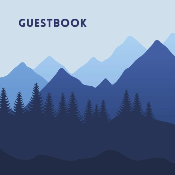 Mountain Vacation Cabin and Camper Guestbook